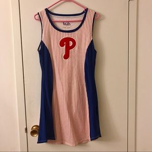 Phillies Ballgirl style dress by Touch, Sz L